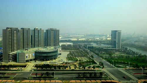 常熟经济技术开发区崛起现代化滨江新城